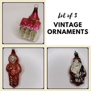 VINTAGE | Hand Blown German Mercury Glass Ornament